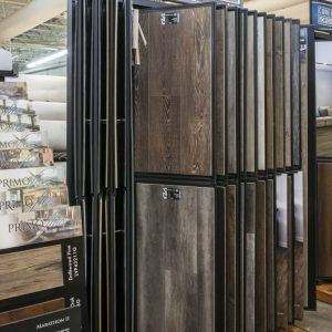 The Carpet-Depot store in Roswell, Georgia. Hardwood showroom.