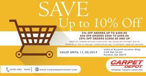 November Coupon - Roswell