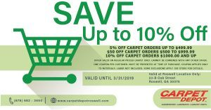 Carpet Coupon Roswell