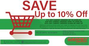 December 2019 Carpet Coupon Roswell