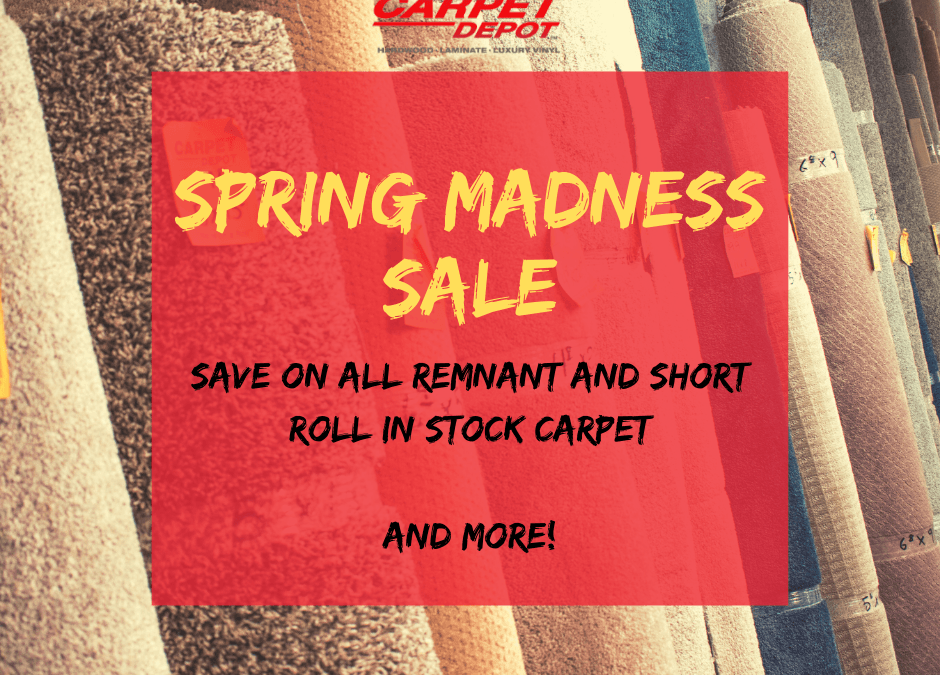 Spring Madness Sale